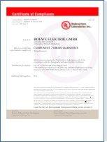 UL-Zertifikat