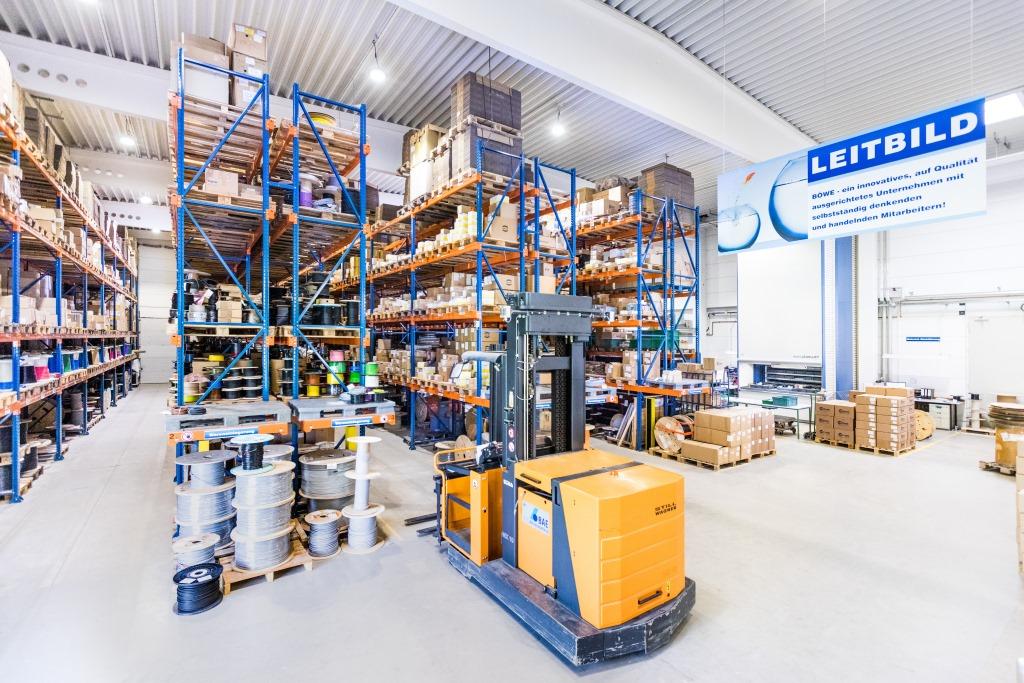 Lager Böwe Elektrik Kraftsdorf
